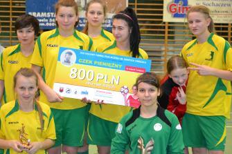 Zwycięstwo drużyny UKS Ząbkovia Ząbki w Sochaczewie