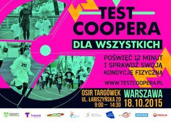 Test Coopera dla Wszystkich na Targówku 18.10.