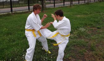 Zgrupowanie karateków KSW KYOKUSHIN w Ząbkach
